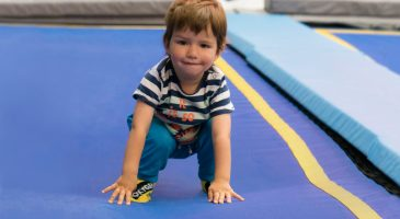 Toddler trampolining sessions