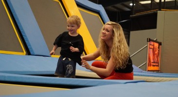 Trampolining Toddler Party