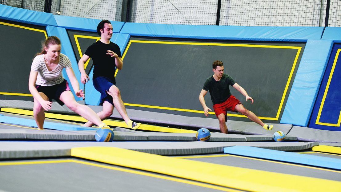 Activities for corporate away day dodgeball players